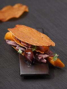 Millefeuille de patate douce