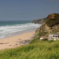 Many good times spent at Watergate Bay British Beaches, Cornwall Beaches, English Summer, Seaside Holidays, Seaside Resort, Crashing Waves, Big Waves, Beach Fun, Amazing Destinations