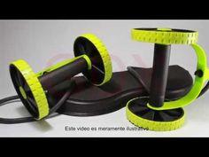 rutina de ejercicios con la maquina revoflex xtreme español - YouTube Xtreme, Home Appliances, Gym, Kitchen, Youtube, Crunches, Exercises, Routine, Diet