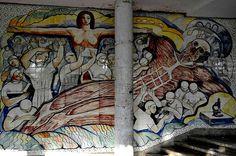 Mural Narvaez by Ninoska Enriquez. UCV