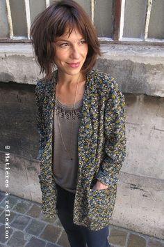 #lookoftheday @ www.matieresareflexion.com #outfitoftheday #lotd #ootd #lookdujour #pyruslondon #charlottesometime #newcollection #aw2013 #aw13 #streetlook #paris #jacket #printedjacket #annethomas #tshirt #pants