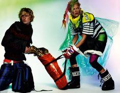 Fashiontography: Carmen Kass by Mario Testino, Style Hunter Carmen Kass, Moon Boots, Mario Testino, Photo Galleries, Fashion Show, Fashion Photography, Vogue, Victoria, Sporty
