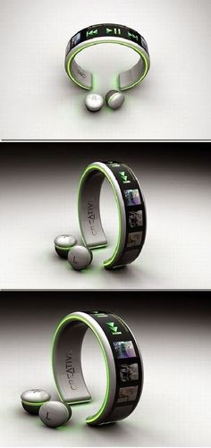 Best Latest Technology: Player Innovative Concept See how you could get a very nice electronic accessories for your gadgets. Latest Electronic Gadgets, Electronic Gifts, Latest Gadgets, Latest Technology Gadgets, Technology Innovations, Smart Technologies, Lampe Retro, Cool Electronics, Electronics Accessories