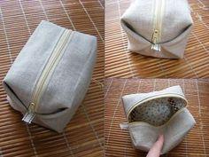 pouch tutorial / キャラメルポーチの作り方11