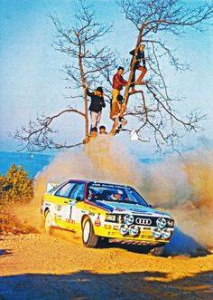 —- Classic  –  The Golden Era Of Group B Rally -  Audi Sport quattro S1 –