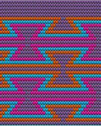 Risultati immagini per crochet pattern wayuu bag Tapestry Crochet Patterns, Bead Loom Patterns, Weaving Patterns, Cross Stitch Patterns, Crochet Chart, Crochet Stitches, Mochila Crochet, Tapestry Bag, Crochet Purses