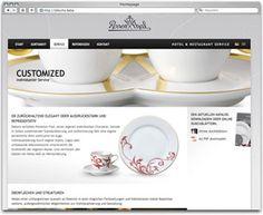 Projekt: Rosenthal Hotel. Internetauftritt der Hotel & Restaurant Service von Rosenthal.