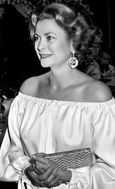 Princess Grace. Paris, 1977.