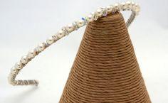 Handmade Tiara Swarovski Crystals Tiara  by Makewithlovecrafts, £24.99