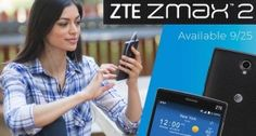 ZTE ZMAX 2 announced for AT
