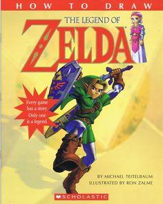 How to Draw Legend of Zelda
