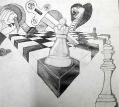 Check out student artwork posted to Artsonia from the Two Point Perspective Chess Set project gallery at Eustace Middle School.