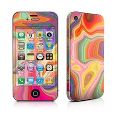 iPhone 4 Skin - Mind Trip by DecalGirl Collective