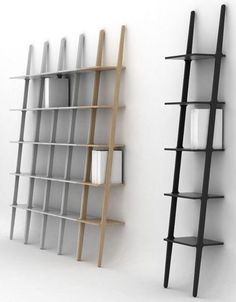 The Libri shelf, designed by Michael Bihain and produced by Swedese.