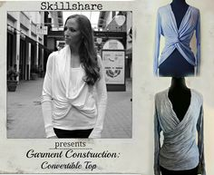 DIY Convertible Cardigan - Trash To Couture