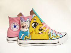 Adventure Time converse awesome