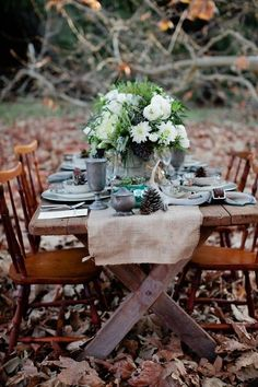 Beautiful setting for a Thanksgiving gathering