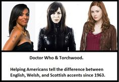 Doctor Who & Torchwood. I hate to admit it, but it's true. I'm getting kind of good at it, really!