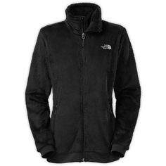 The North Face Women's Mod-Osito Jacket ($99) ❤ liked on Polyvore featuring jackets, black and the north face