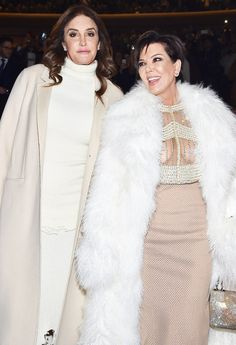 On the Thursday, Feb. 18, episode of 'Fashion Police,' Kris Jenner placed her ex, Caitlyn Jenner, on the 'Worst Dressed' list — watch