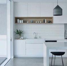 The kitchen that is top-notch white kitchen , modern kitchen , kitchen design ideas! Beautiful Kitchen Designs, Beautiful Kitchens, New Kitchen, Kitchen Decor, Kitchen Ideas, Kitchen White, Kitchen Inspiration, White Contemporary Kitchen, Small Modern Kitchens