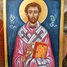 St Titus contemporary byzantine art