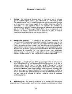 Guia-de-estimulacion-temprana[1] Short O, Exercise, Gross Motor, Calm, Degree Of A Polynomial