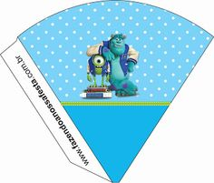 Monsters University - Full Kit with frames for invitations, labels for snacks, souvenirs and pictures! | Making Our Party