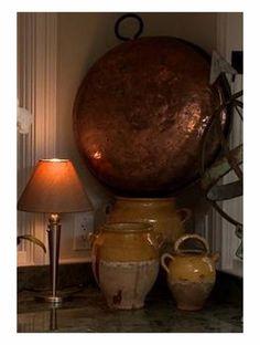 French Copper Chesnut Roaster Natural Patina   eBay