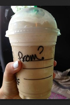 That's such a cute idea to ask someone to prom..
