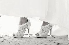 My #shoes #wedding Lisa Silva Photography