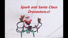 DJI Spark and Santa Claus at Dronestore Chile