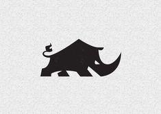 33+ Rhino Logo Designs, Idea, Examples | Design Trends - Premium PSD, Vector Downloads