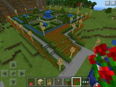cool way to set your rose garden minecraft memesminecraft designsminecraft peminecraft creationsminecraft stuffminecraft ideas
