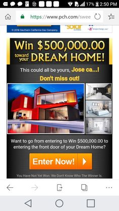 Helping Other People, Helping Others, Pch Dream Home, Thomas Wayne, Win For Life, Official Rules, Winner Announcement, Winning Numbers, Cash Prize