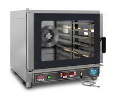 E-Kombidämpfer, AIRPOWER-05-D Innenbeleuchtung, Innenraum mit abgerundeten Ecken, herausnehmbare Backblechträgerschienen, Türanschlag links, digitale Steuerung, Autoreverse des Lüftermotors, Kerntemperaturfühler, Wassereinspritzung und Tauwasserablauf, Thermostat: 280°C, inkl. 2 verchromte Roste FO04NEA0030, Kapazität: 5 Roste GN 1/1 od. 60 x 40 cm Schienenabstand: 8 cm Anschlussw.: 400 V / 6,45 kW Abm. Backraum: 68 x 48 x 44 cm (BxTxH) Abm.: 84 x 91 x 75 cm (BxTxH) Kitchen Appliances, Electronics, Interior Lighting, Sheet Metal, Room Interior, Diy Kitchen Appliances, Home Appliances, Kitchen Gadgets, Consumer Electronics