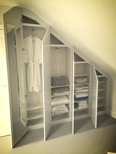Wardrobe to fit in loft conversion.