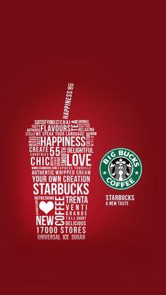 Starbucks Coffee, Arte Starbucks, Disney Starbucks, Starbucks Drinks, Phone Screen Wallpaper, Iphone Wallpaper, Wallpapers Kawaii, Starbucks Wallpaper, Print Layout