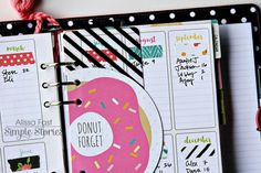 Design team member Alissa Fast is on the blog sharing how she's set up her Coral Carpe Diem Planner
