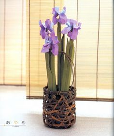 ISSUU - Origami flowers by viviana losoya