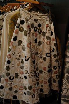 alabama chanin skirt  | followpics.co