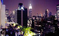 Sky Room Times Square - highest rooftop bar - 330 W. 40th St. (b/w 8th & 9th Aves)