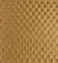 $193Bel Air Scallop Sisal [BEC-51544] Bel Air Collection | Color: Royalty Gold | DesignerWallcoverings.com | Luxury Wallpaper | @DW_LosAngeles | #Custom #Wallpaper #Wallcovering #Interiors