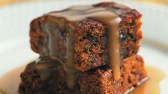 This is our vegan recipe for sticky toffee pudding. The quantities for the toffee sauce are large, but that's the best part of a sticky toffee pudding.Dietary: vegan Serves: 6Ingredients for sponge 250ml soya milk 100ml water 200g dates 1 level teaspoon bicarbonate of soda 115g vegan margarine 11