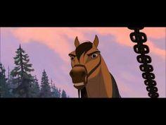 Spirit Stallion Of The Cimarron - Iron Horse Camp & Pulling/Train Escape - YouTube