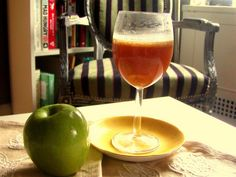Hot buttered rum with cider-- perfect for fall!