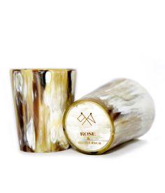 Loving these!  Rose & Fitzgerald — Whisky Tumbler Set, Light Horn | roseandfitzgerald.com/shop