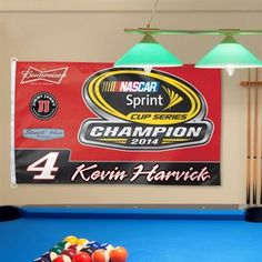 Kevin Harvick WinCraft 2014 NASCAR Sprint Cup Series Champion One-Sided 3' x 5' Flag