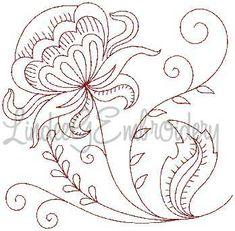 Flower 8, medium  $