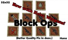 Block Ops Zombies Resource Pack for Minecraft 1.8.1
